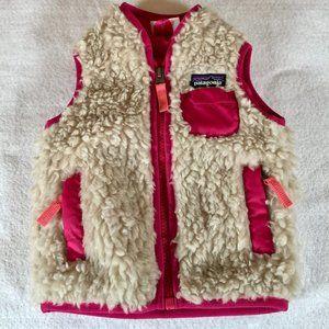 Patagonia Baby Retro-X faux sherpa fleece vest